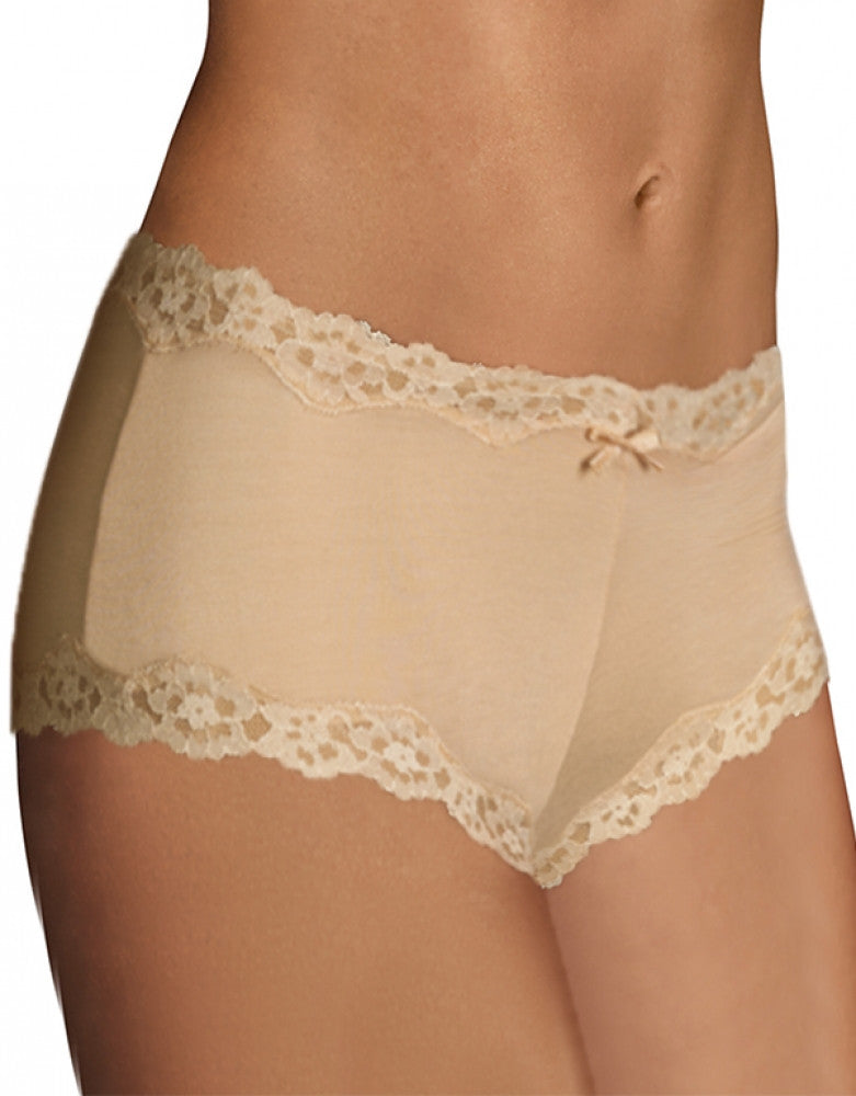 Latte Lift Front Maidenform Cheeky Scalloped Lace Hipster