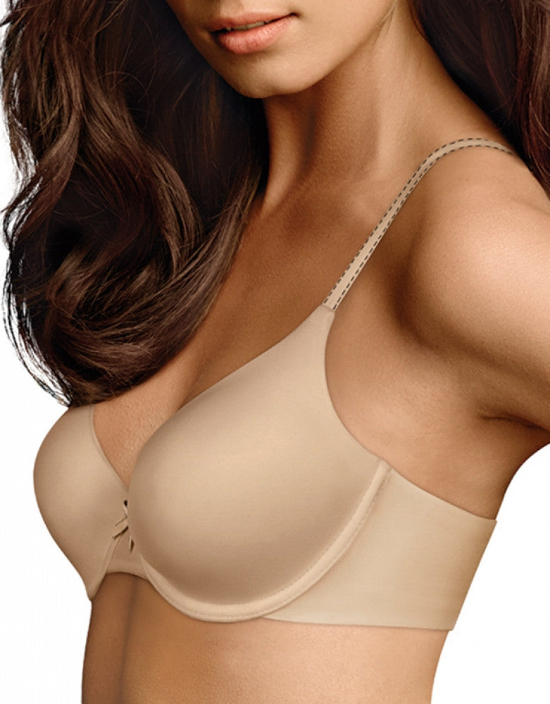Latte Lift Black Front Maidenform Comfort Devotion Demi T-Shirt Bra 09402