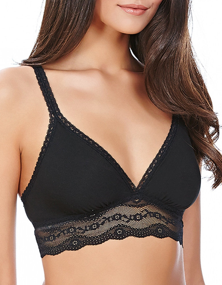 Black Front b.tempt'd by Wacoal b.adorable Lace Bralette