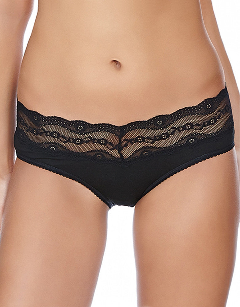 Black Front b.tempt'd by Wacoal B.Adorable Lace Hipster
