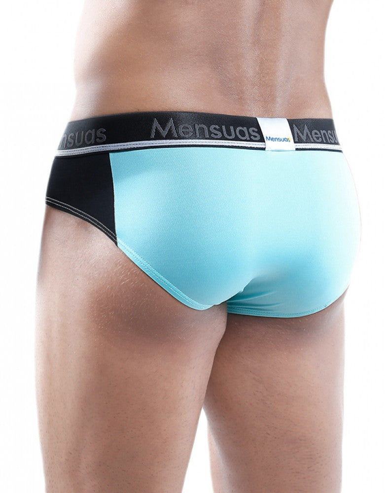 Green Back Mensuas Active Bikini Brief