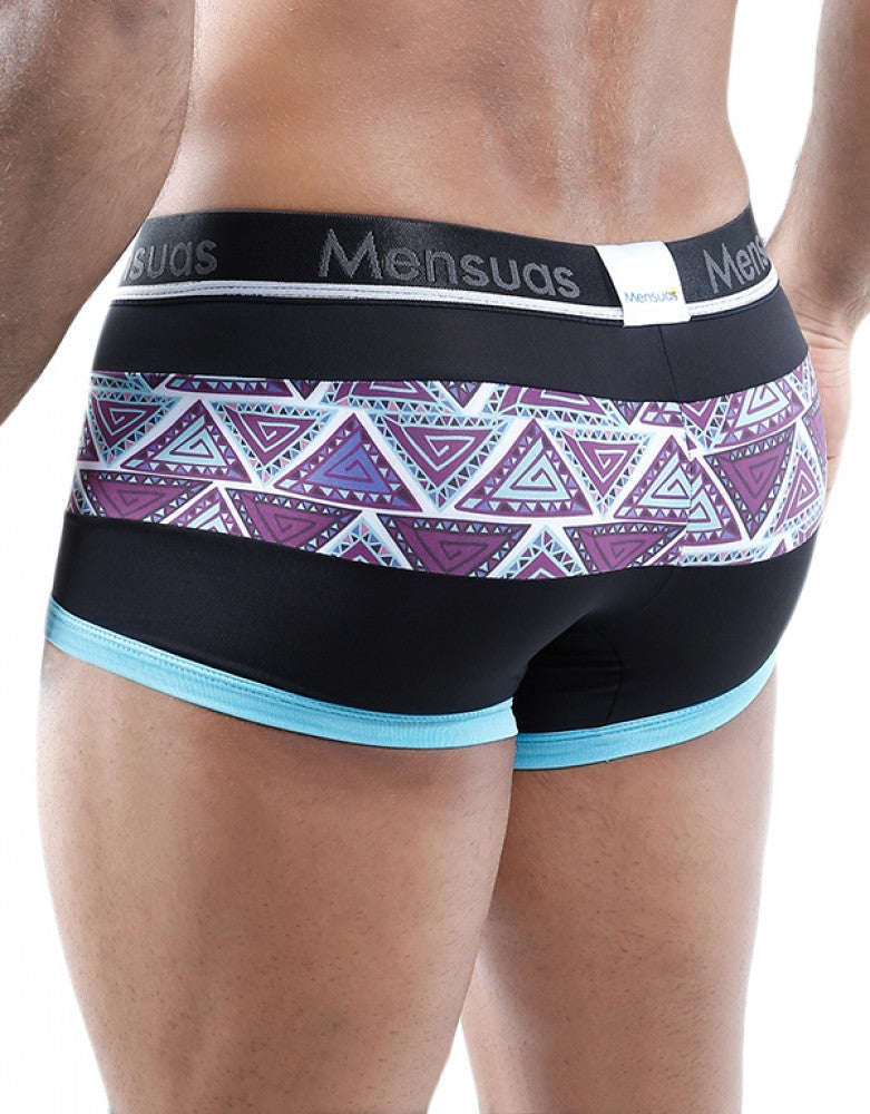 Print Back Mensuas Colorful Combination Trunk