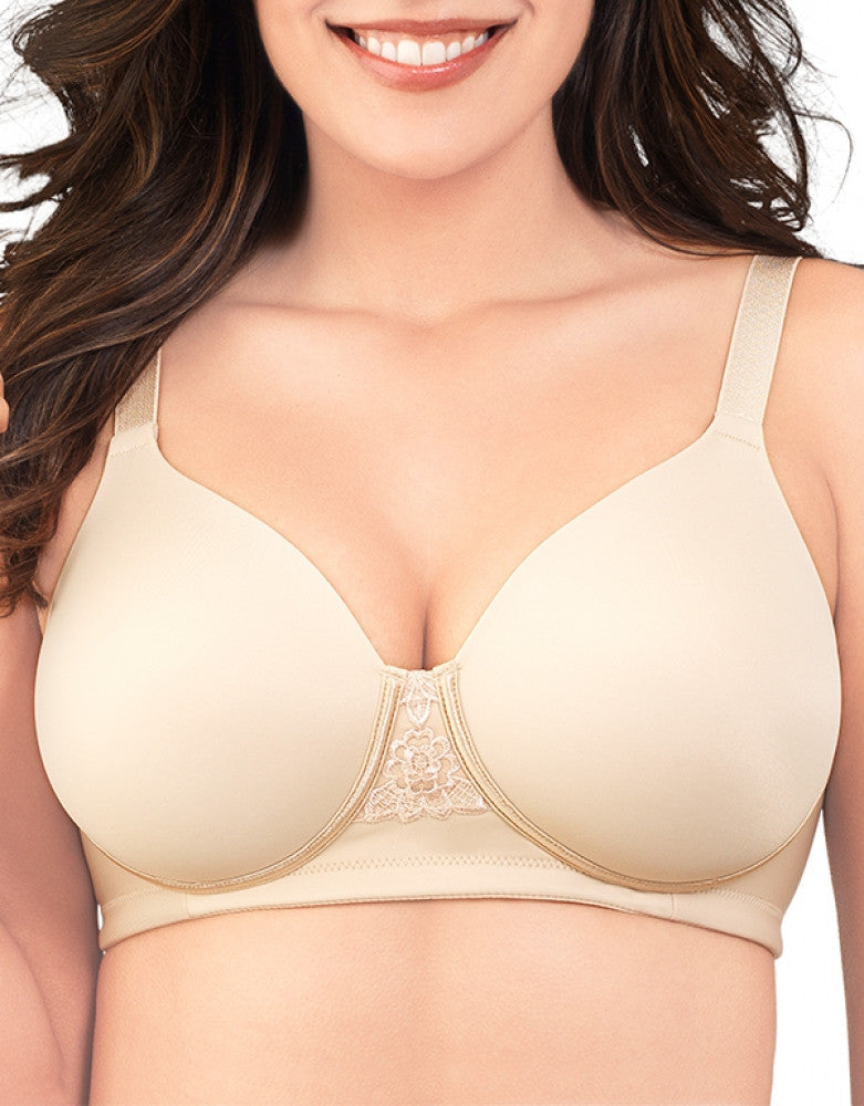 Damask Neutral Front Vanity Fair Beauty Back Full Figure Wirefree Bra