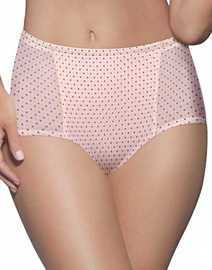 Multi Silken Dots Front Bali One Smooth U Simply Smooth Brief