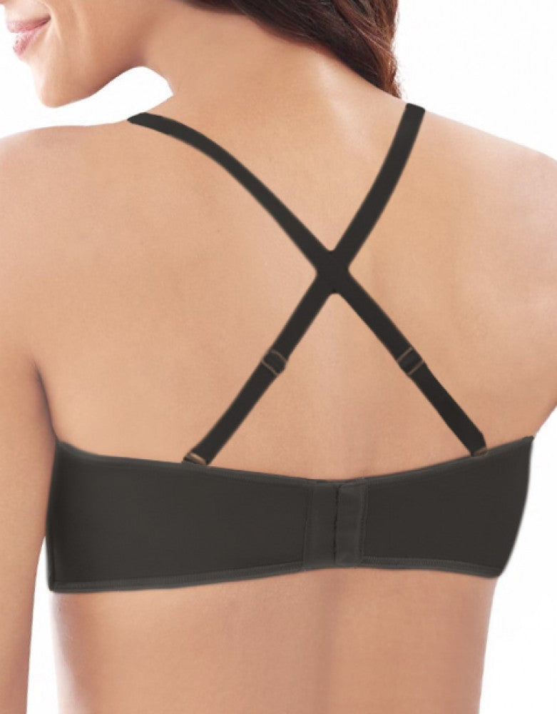 Black Tailored Back Lilyette Specialty Strapless Bra