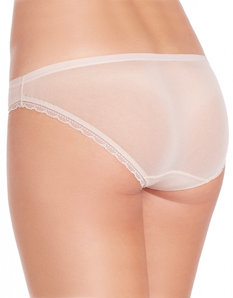 Champagne Back OnGossamer Scalloped Edge Bikini Panty