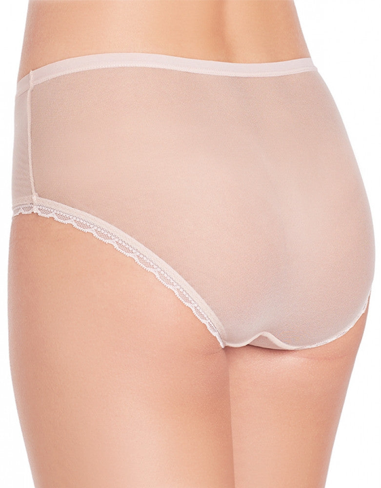 Champagne Back OnGossamer Scalloped Edge Brief Panty