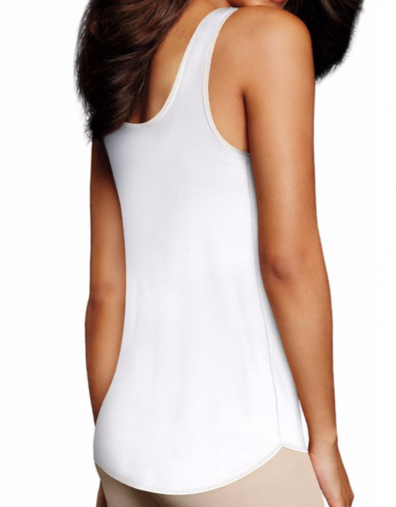 White Back Maidenform Undercover Slimming Firm Control Tank