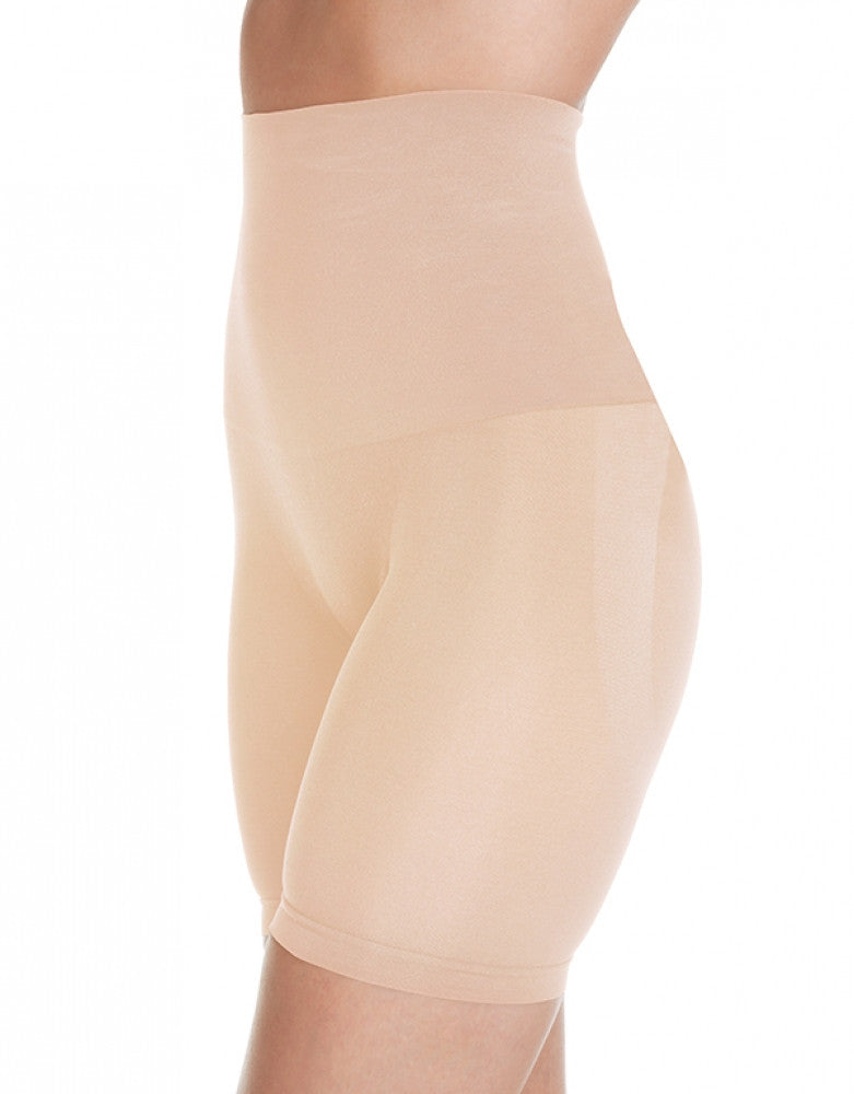 Nude Front Dolce Vita Instant Shaping Medium Support Hi-Waist Cinch Long Leg