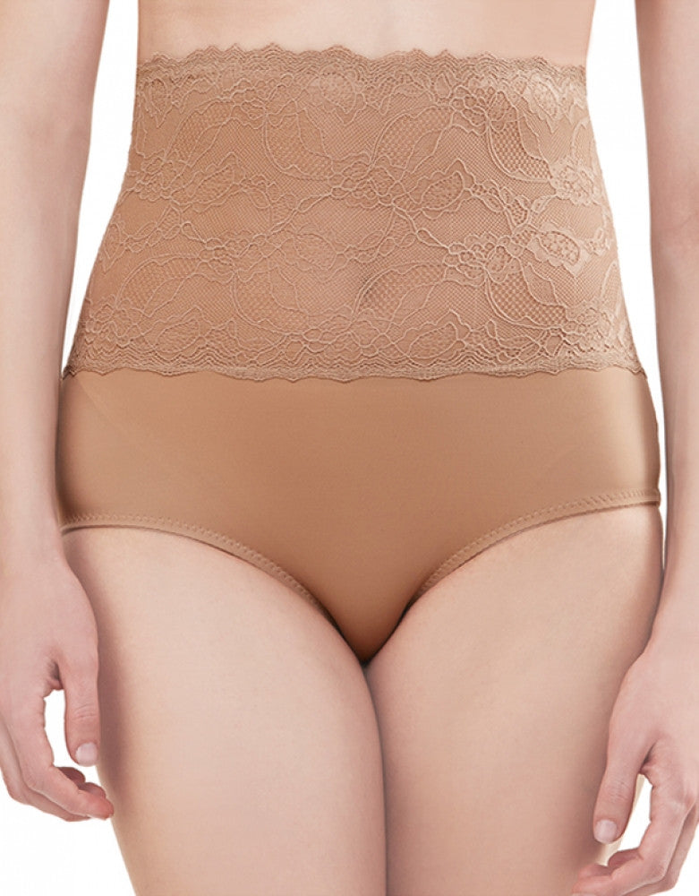 Nude Front Dolce Vita Instant Shaping Medium Support Lace Brief