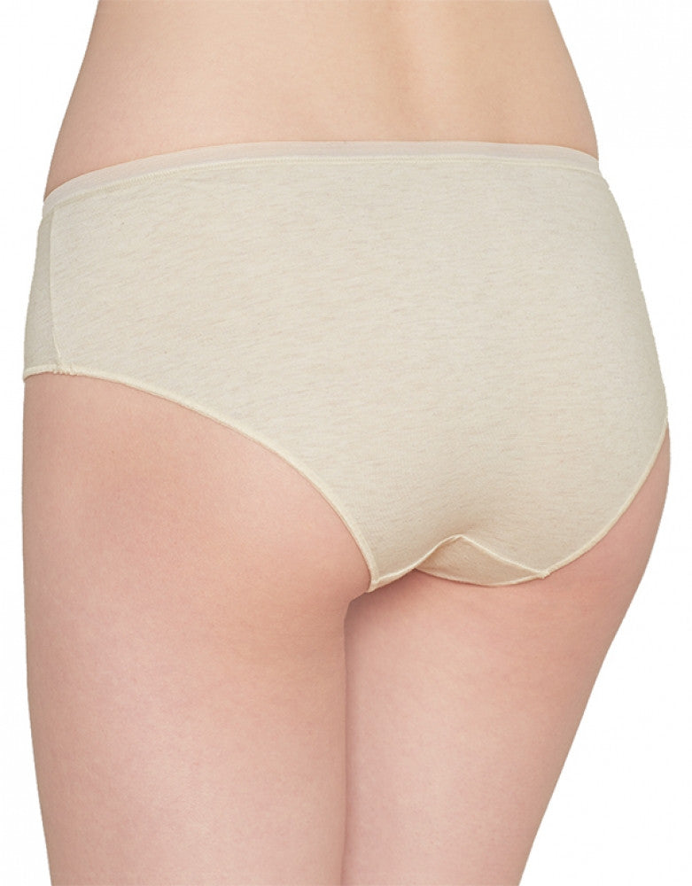 Oatmeal Heather Back Cabana Cotton Hipster
