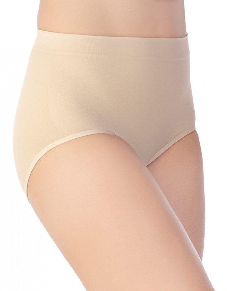Damask Neutral Front Vanity Fair Smoothing Comfort Seamless Brief