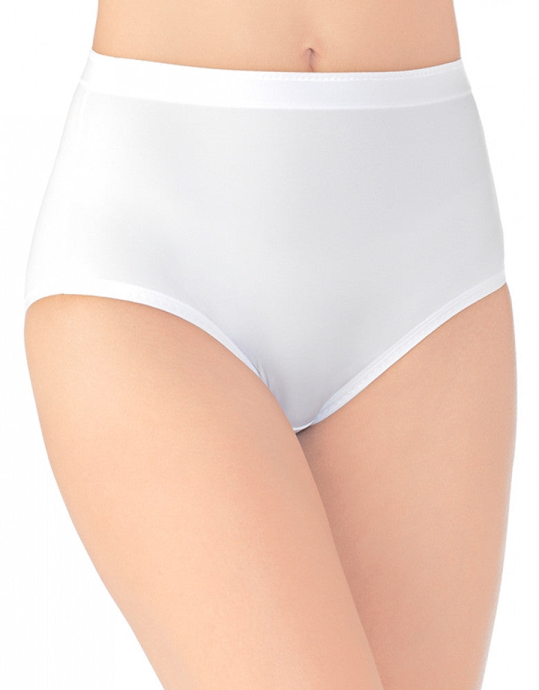 Star White Front Vanity Fair Comfort Where It Counts Brief Panty 13163