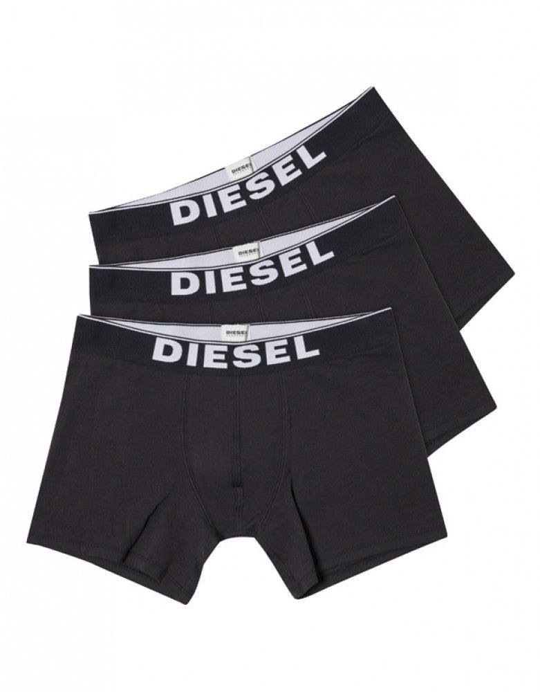 Black Front Diesel 3-Pack Basic Sebastian Boxer Briefs