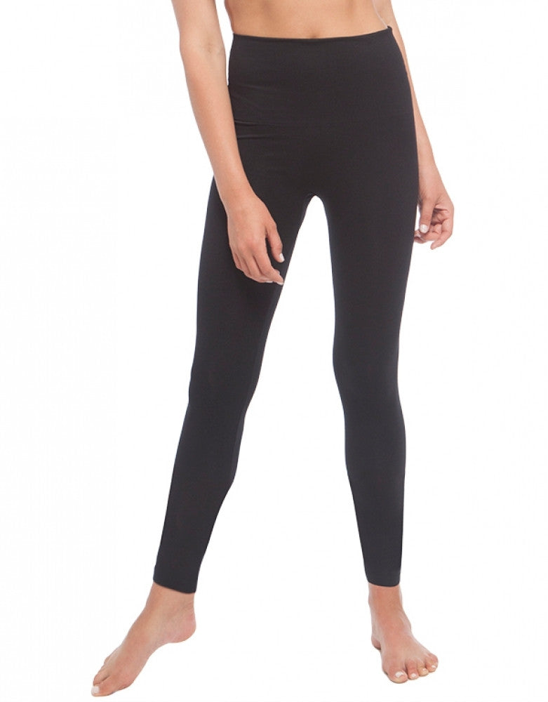 Black Front Dolce Vita Instant Shaping Medium Support Hi-Waist Ankle Legging