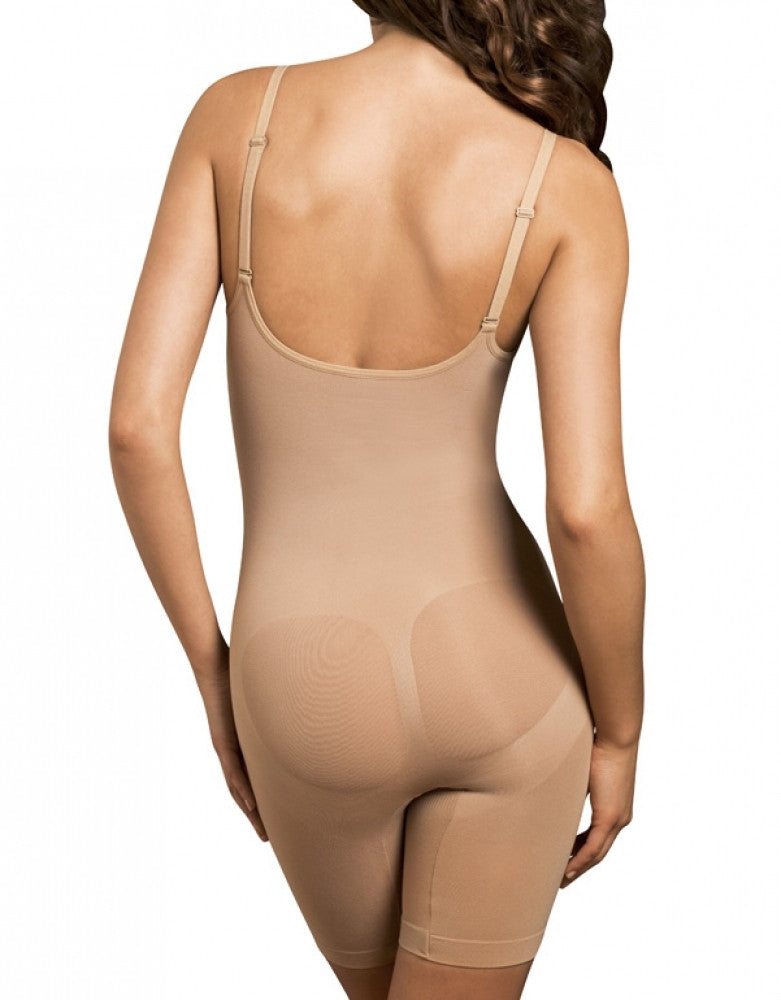 Nude  Body Wrap Long Leg Underbust Bodysuit