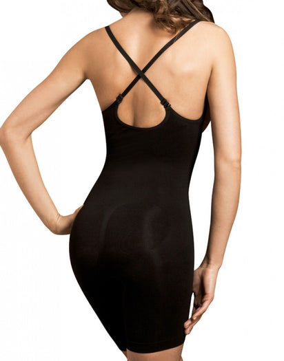 Black Other Body Wrap Long Leg Underbust Bodysuit