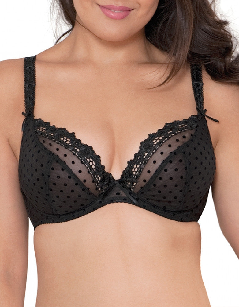 Black Front Curvy Kate Princess Plunge CK6011