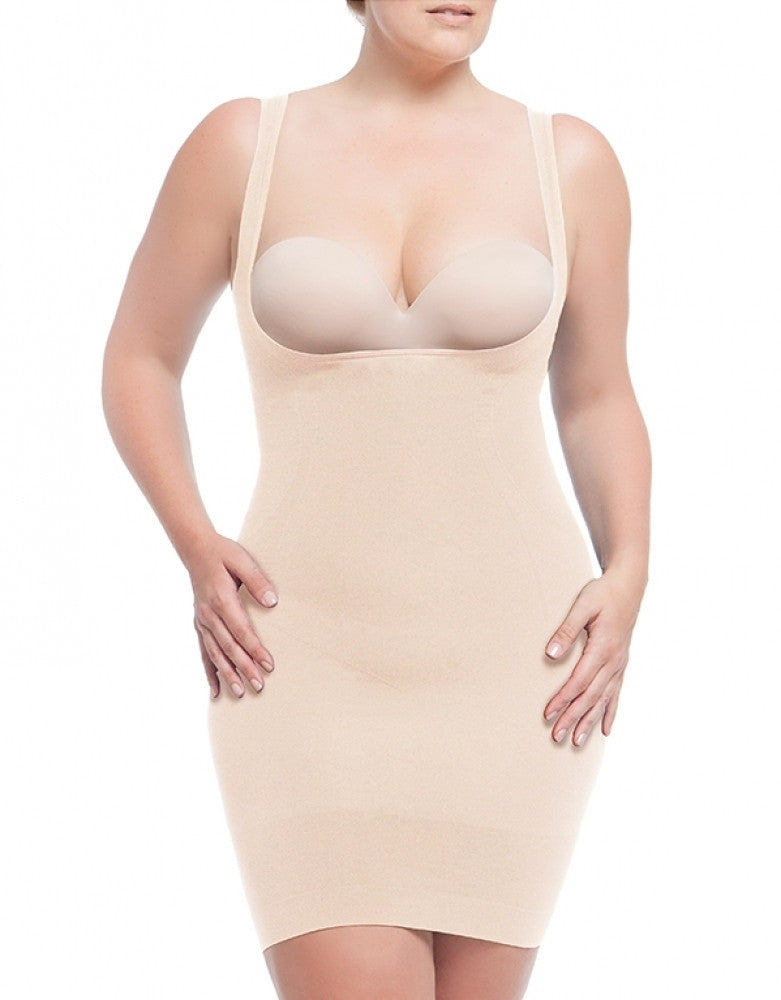 Nude Front Dolce Vita Instant Shaping Medium Support Hour Glass Slip