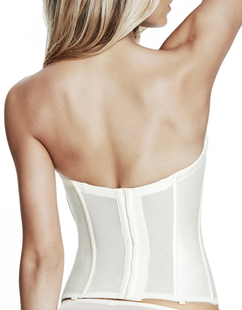 Ivory Back Dominique Julliette Satin Corsette