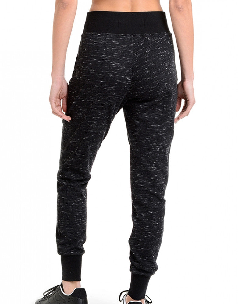 Black Space Dye Back 2xist Athleisure Jogger Pant