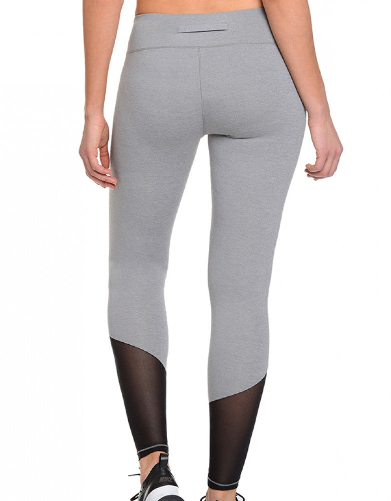 Light Heather Grey Back 2xist Athleisure Solid Legging