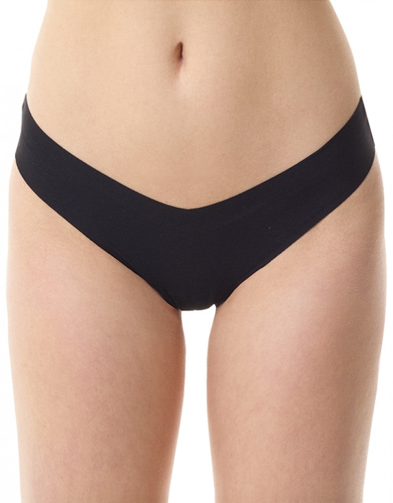 Black Front Classic Thong CT01