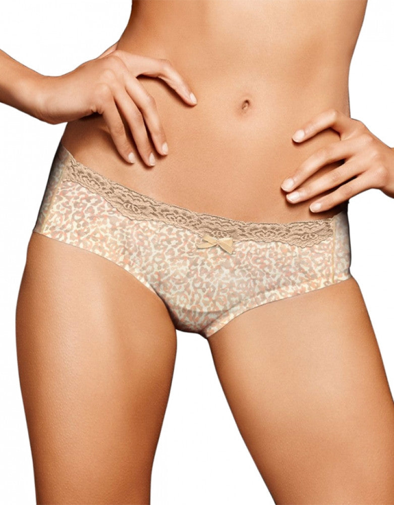 Paris Animal w/Paris Nude Front Maidenform Comfort Devotion Embellished Hipster 40861