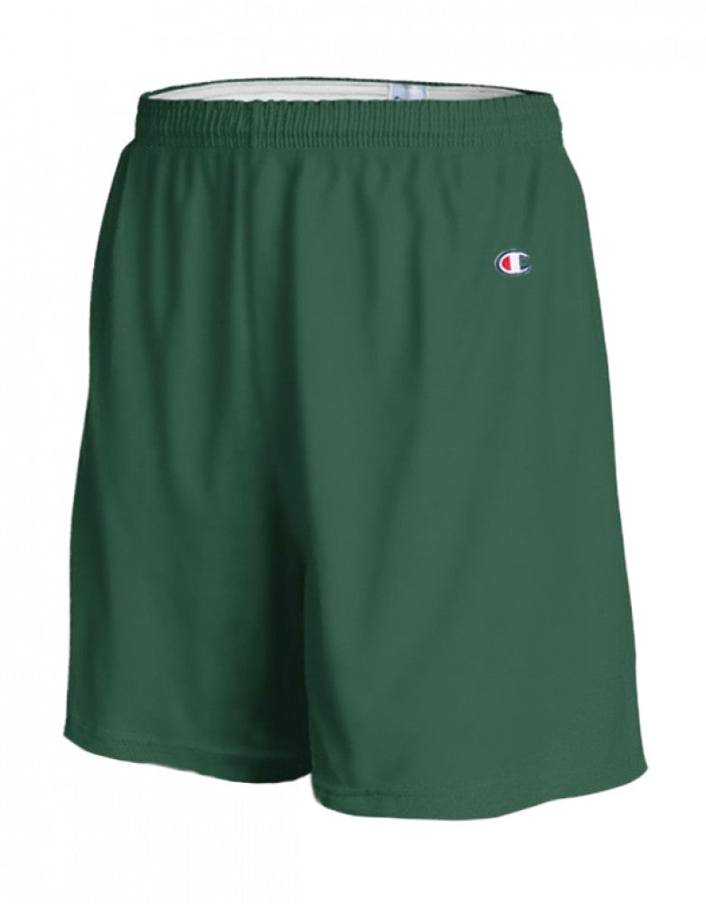 Dark Green Front Champion Mens Gym Short 8187