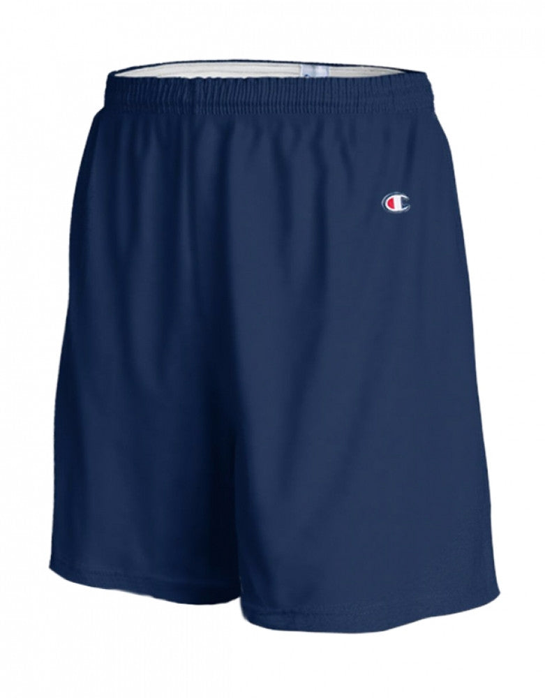 Navy Front Champion Mens Gym Short 8187