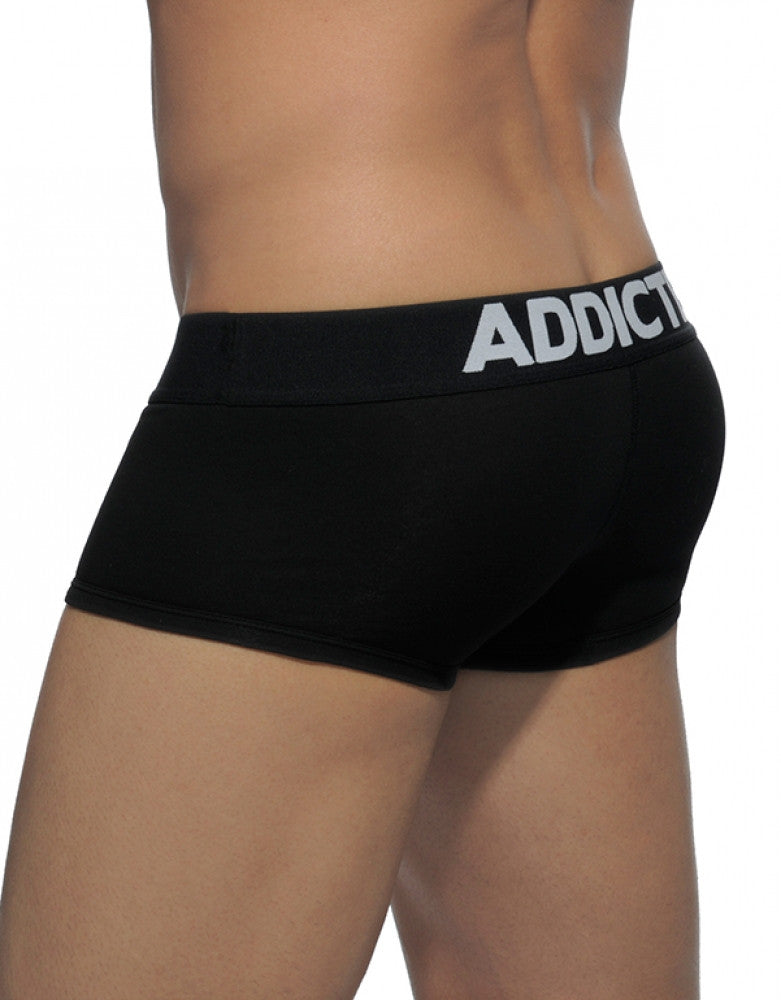 Black Back Addicted Men's My Basic Boxer AD468