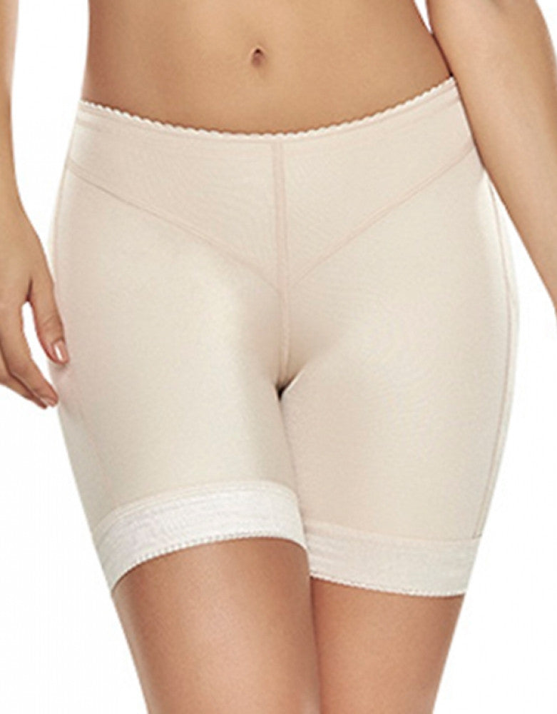 Natural Front Trueshapers Butt Lifter Firm Compression Shaper Short