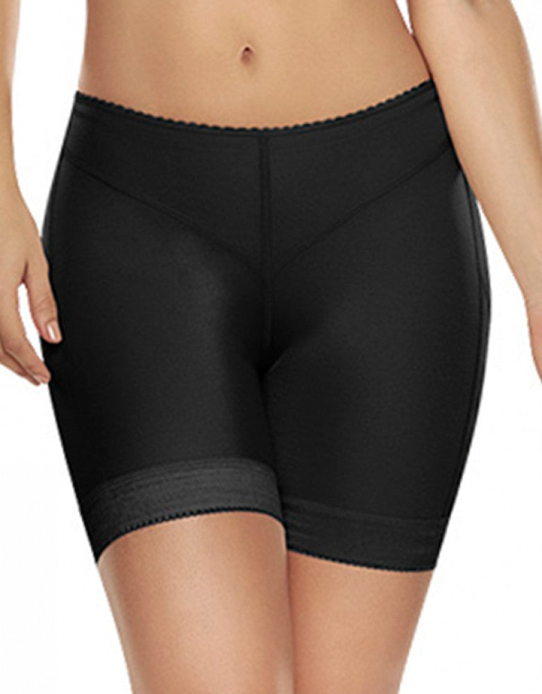 Black Front Trueshapers Butt Lifter Firm Compression Shaper Short