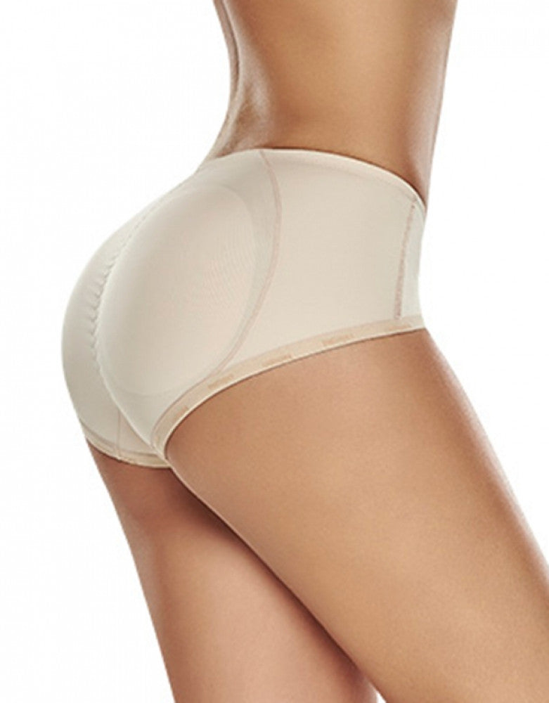 Natural Side Trueshapers Butt Lifter Firm Compression Padded Panty