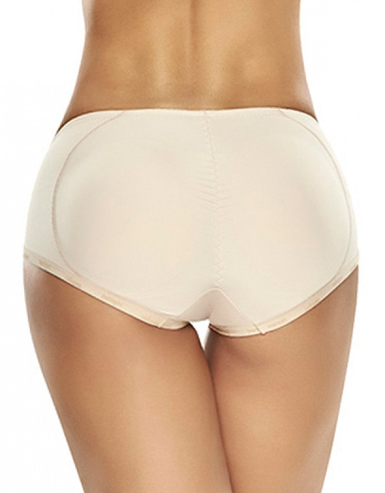 Natural Back Trueshapers Butt Lifter Firm Compression Padded Panty