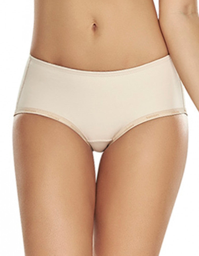 Natural Front Trueshapers Butt Lifter Firm Compression Padded Panty