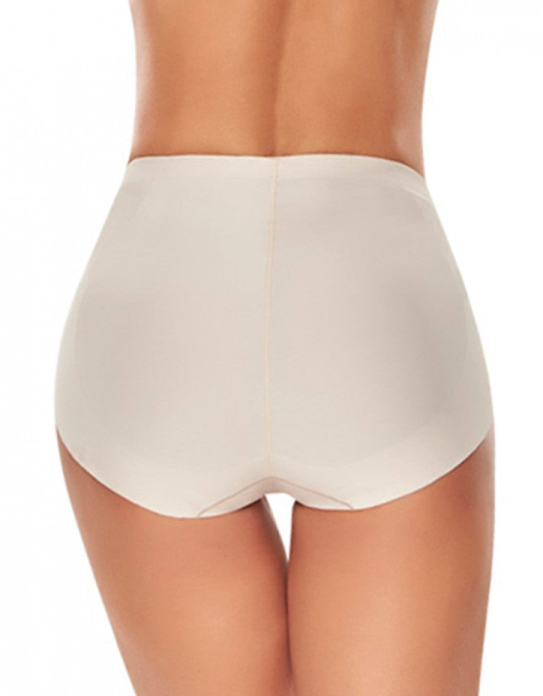 815188e08f Natural Back Trueshapers Seamless Mid-waist Control Panty with Butt Lifter  Benefits