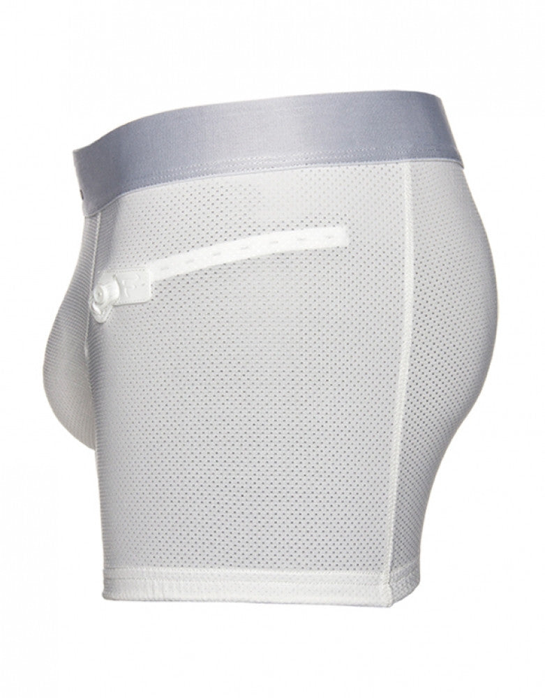 White Side Frigo 3 Mesh Trunk
