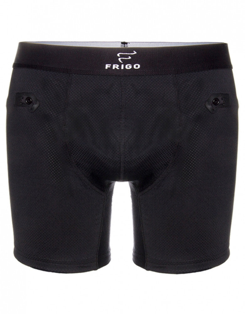 Frigo 6 inch Mesh Boxer Brief Black M 811224021937
