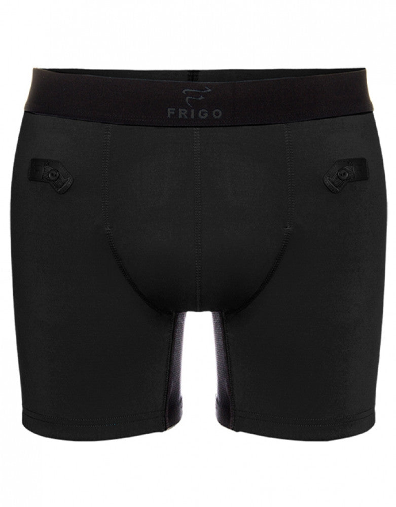 Black Front Frigo 6Sport Boxer Brief