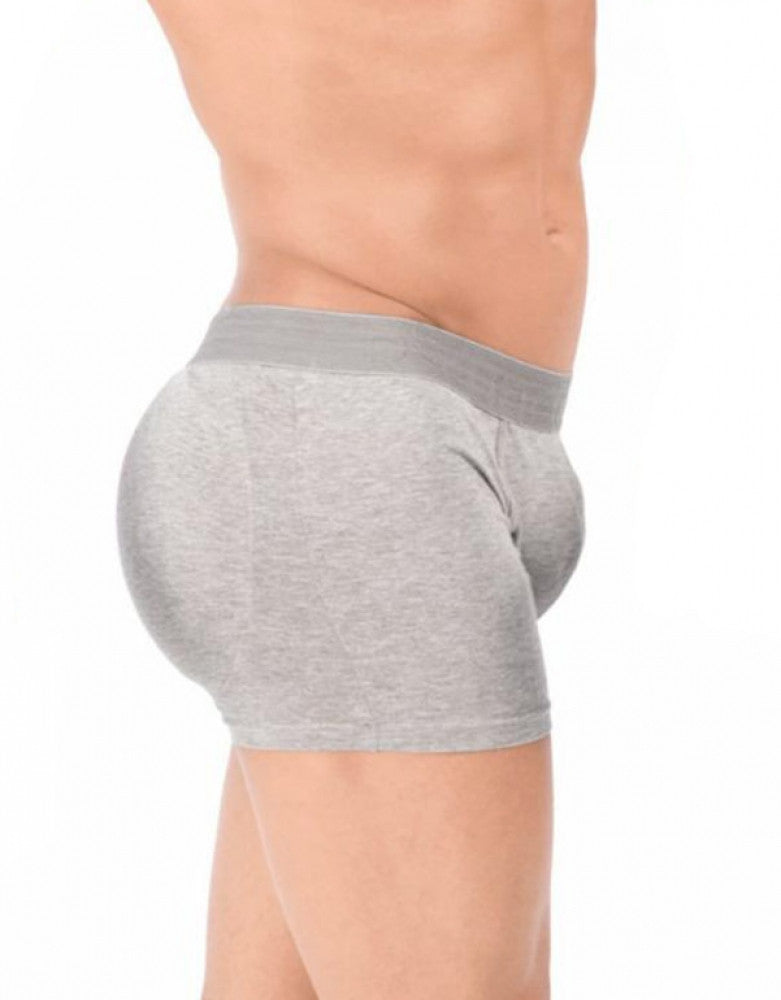 Gray Side Rounderbum Padded Basic Boxer Brief