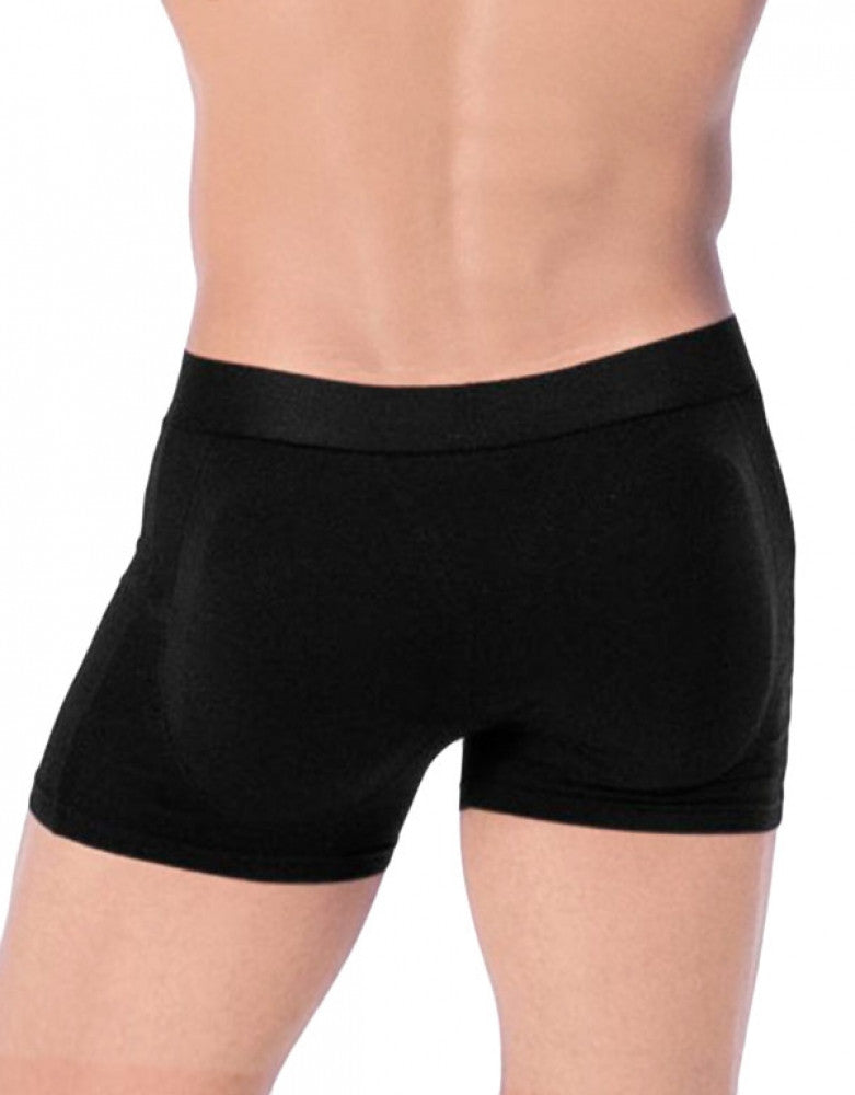 Black Back Rounderbum Padded Basic Boxer Brief