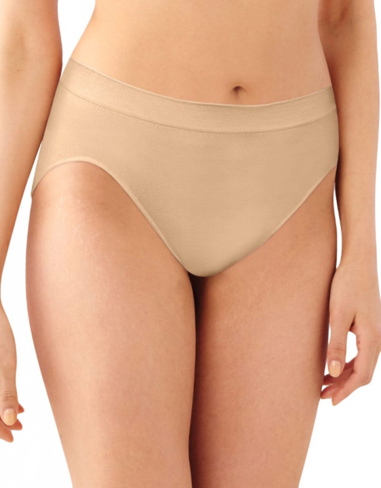 Nude Front Bali Barely There Comfort Revolution Microfiber High Cut Brief