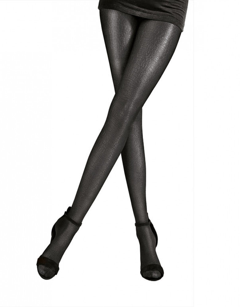 97b20ef8504 Nightshade Front Pretty Polly Metallic Design Tights