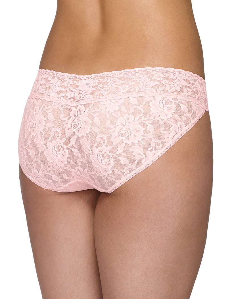 Bliss Pink Back Hanky Panky Signature Lace Vikini 482374