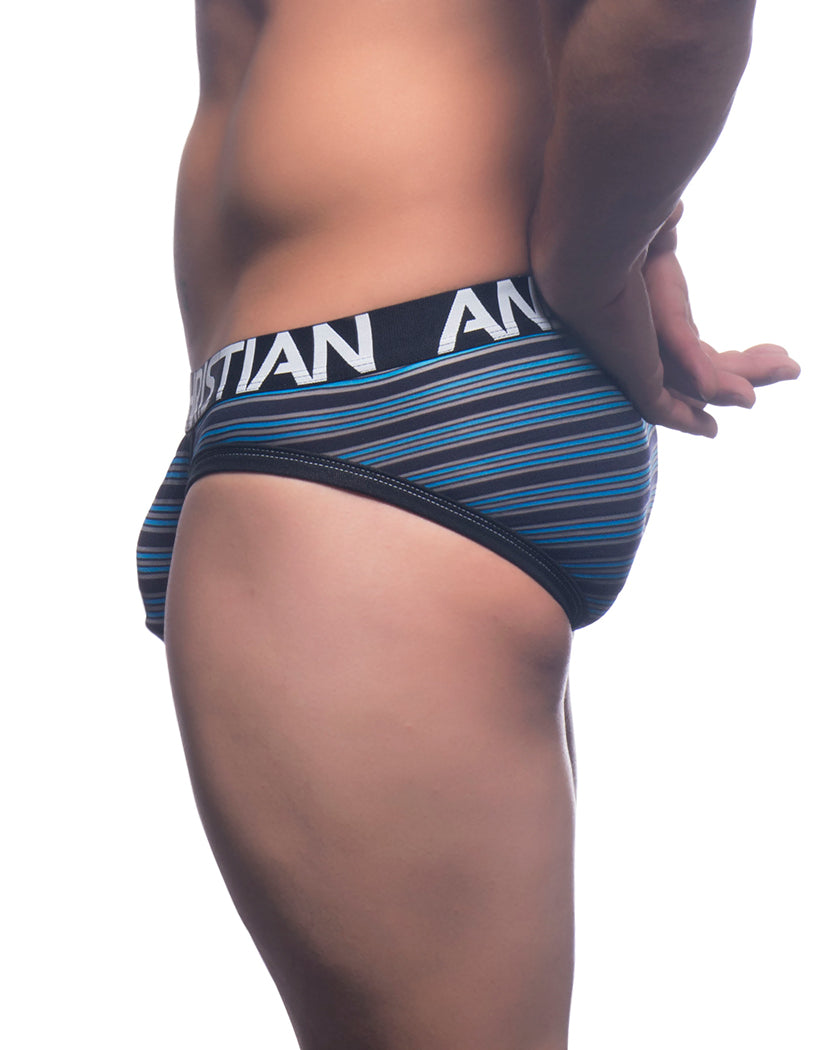 Modern Stripe Side Andrew Christian Modern Stripe Brief