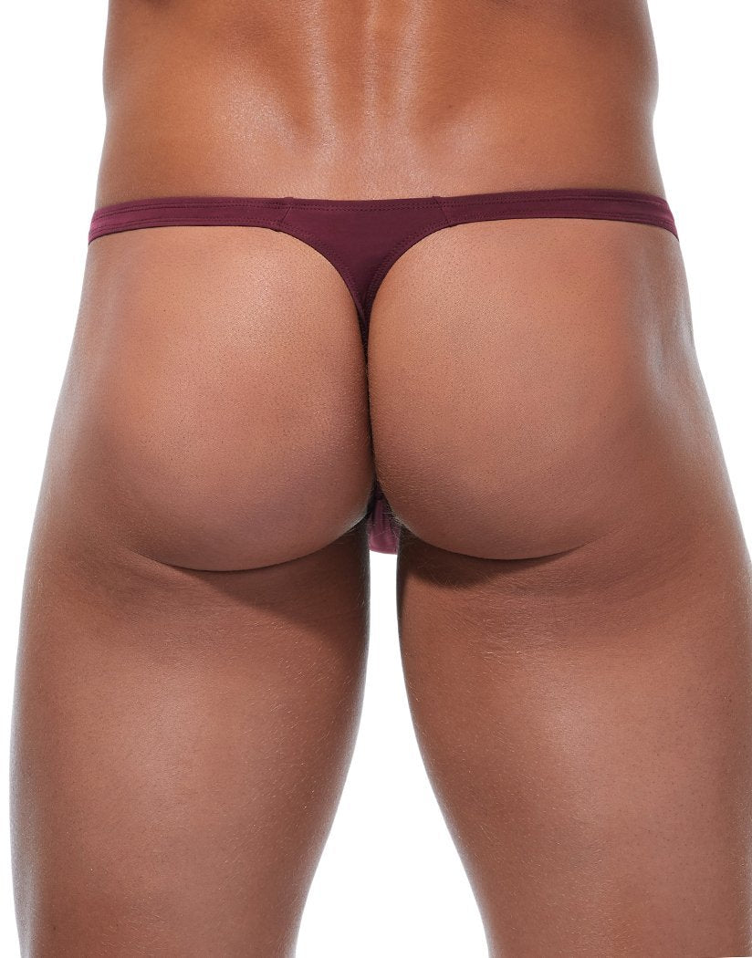 Burgundy Back Gregg Homme Wonder Thong Burgundy 96104