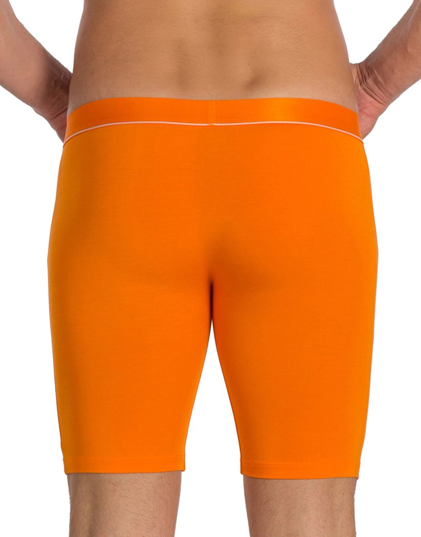Orange Back Obviously PrimeMan Boxer Brief 9 inch Leg A01