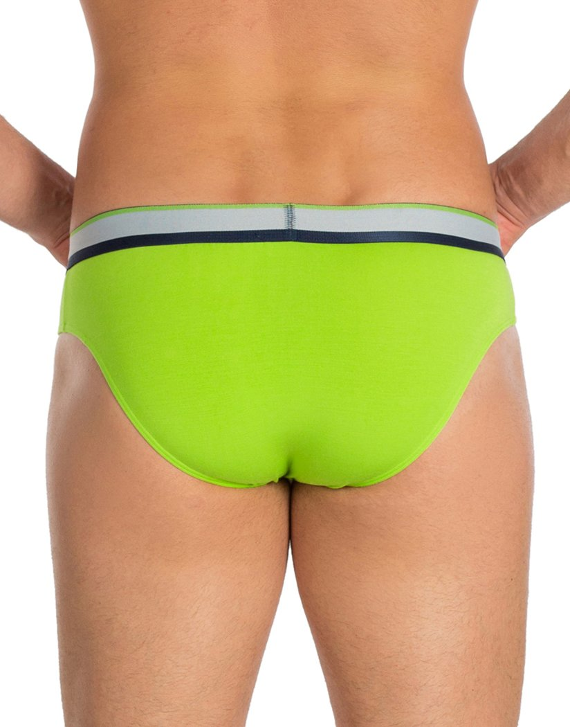 Lime Back Obviously PrimeMan Brief A02