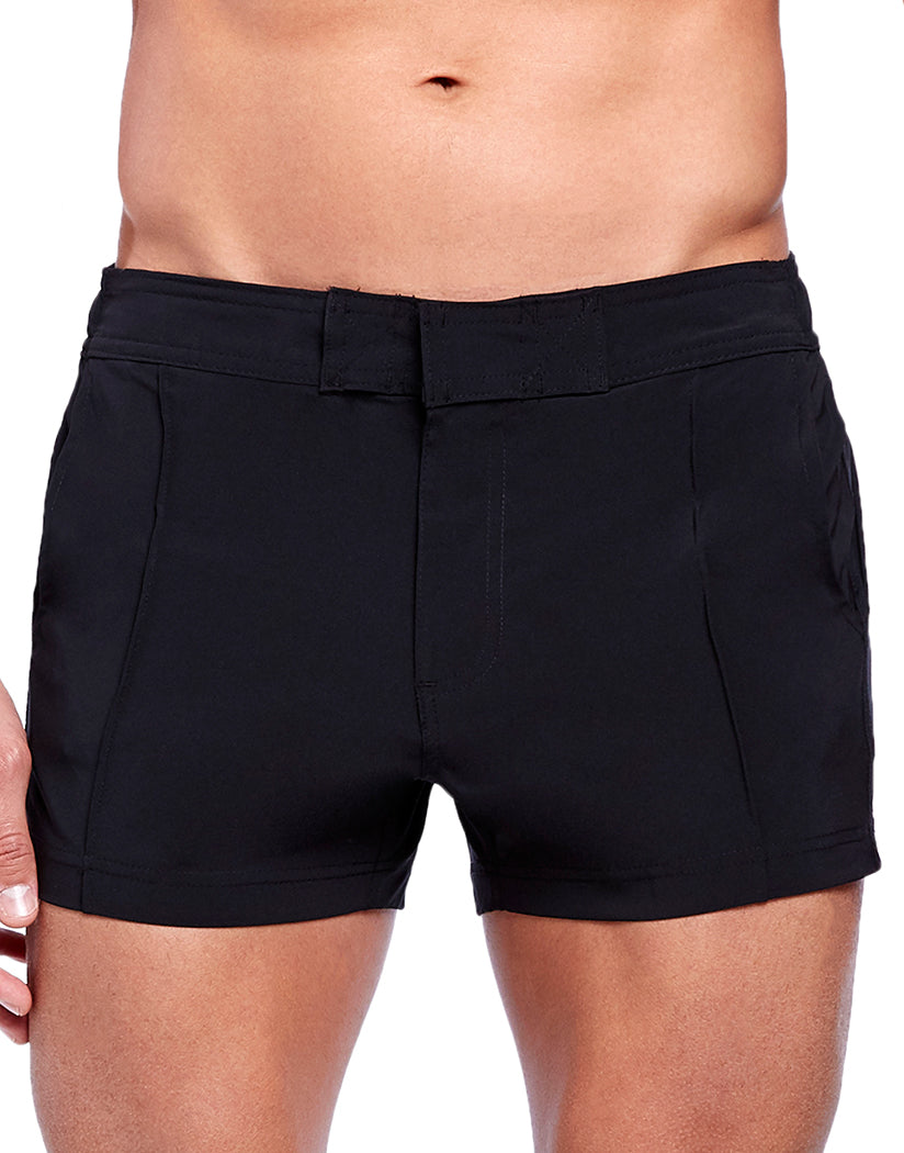 Black Front 2xist Yacht Swim Short Black A14077